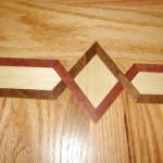 Hardwood Flooring with a design
