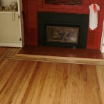 Hardwood Flooring with fireplace